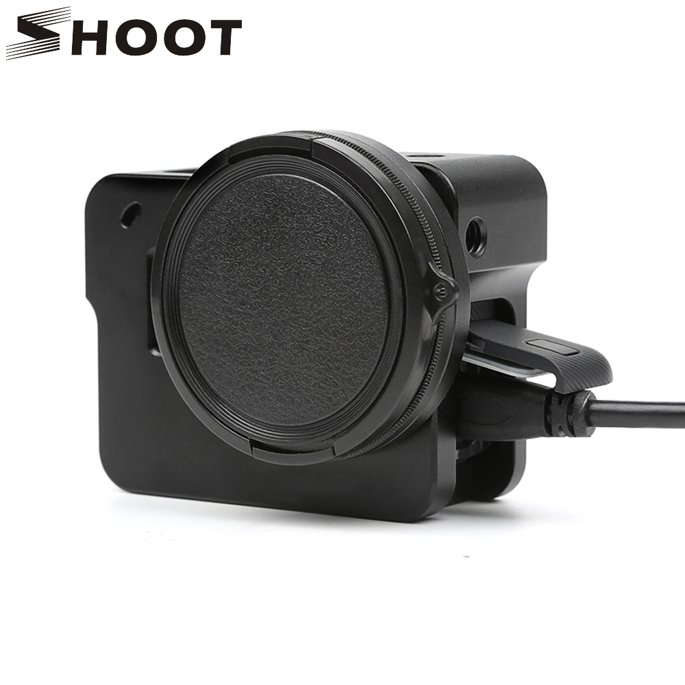 SHOOT Aluminum Alloy Protective Case with UV Filter for GoPro Hero 5 Black Action Camera Hosing Shell Go Pro Hero 5 Accessories стоимость