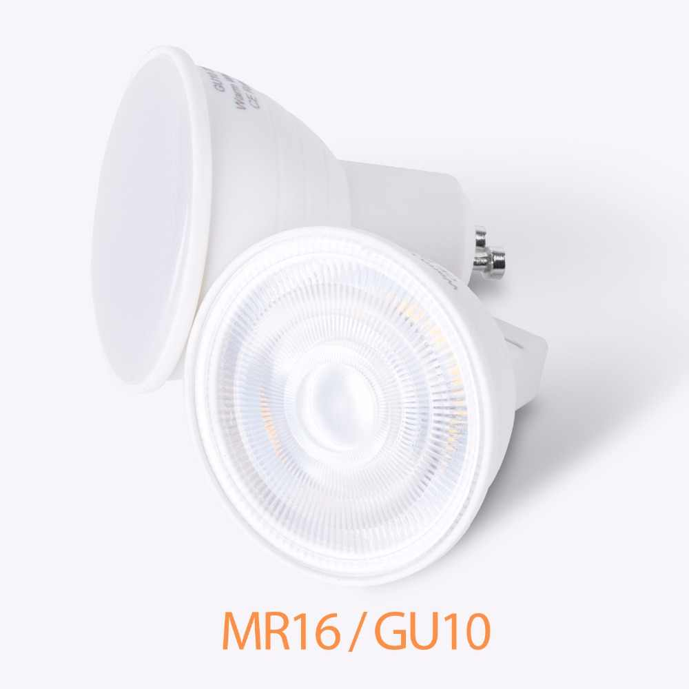 10 Pcs GU10 LED Jagung Bulb MR16 Lampu Sorot 220V Focos Bohlam LED 5W 7W Ampul Gu 10 lampu LED GU5.3 Spot Light Energy Saving 2835 SMD