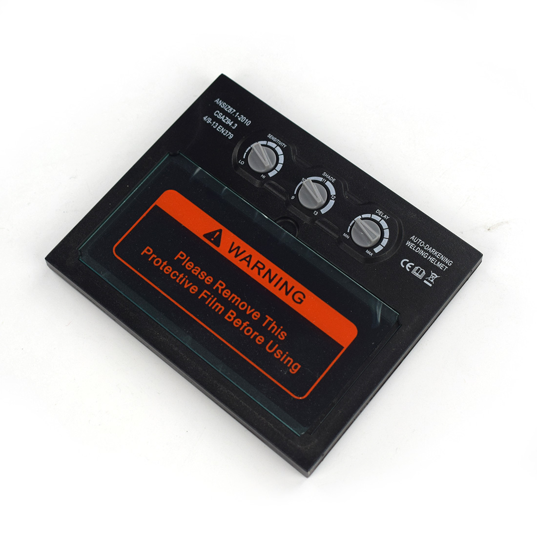 Lithium Battery Solar Auto Darkening/shading Welding Filter Lens For The Welding Mask And Helmet Welding Mask Glass