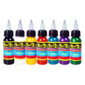 Solong Tattoo Ink 7 Colors Set 1oz 30ml/Bottle Tattoo Pigment Kit TI301-30-7
