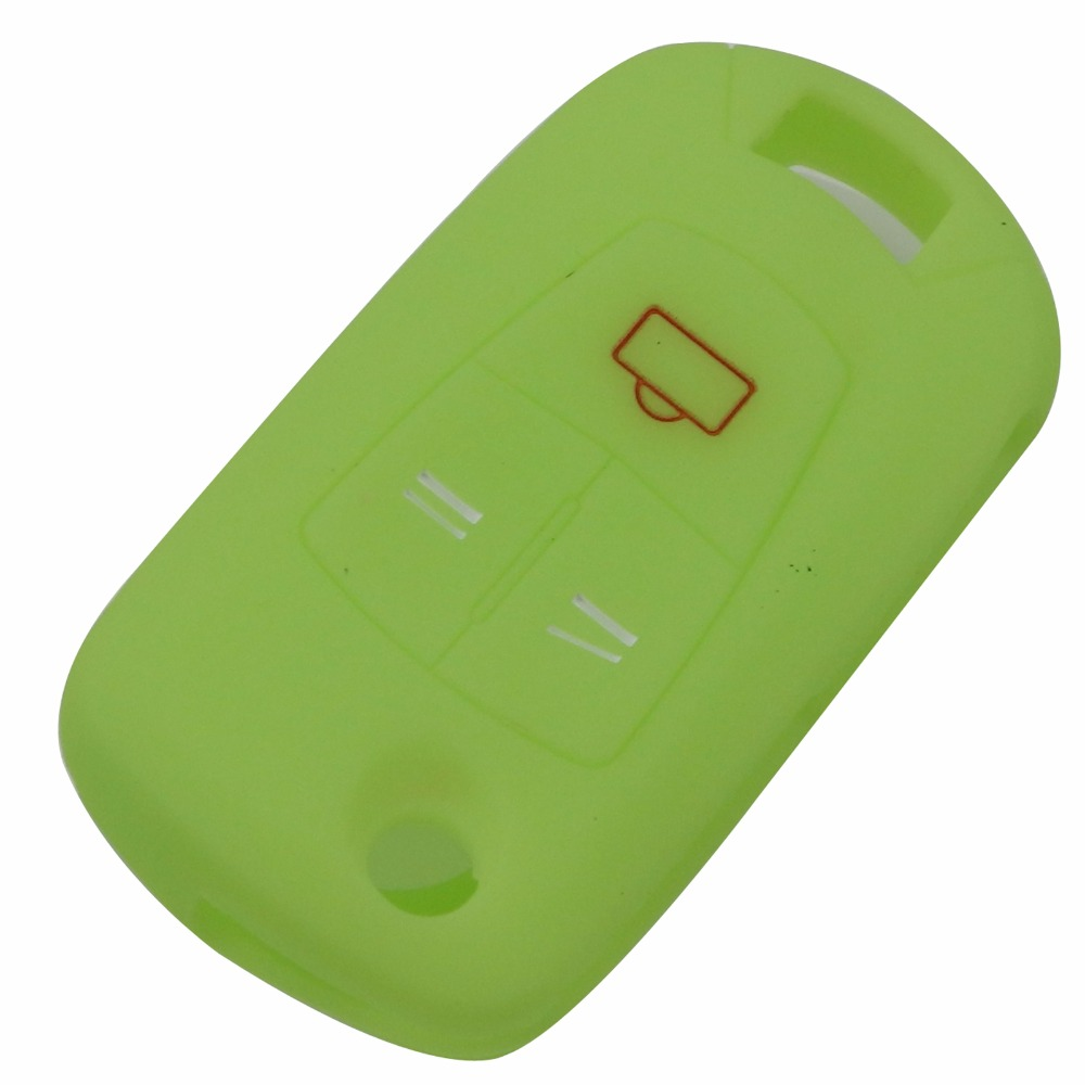 Bilchave 3 Buttons Remote Silicone Car key cover Case Fob For Ope Vauxhall Astra Vectra Corsa Signum in Key Case for Car from Automobiles Motorcycles