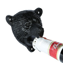 Vintage Iron Bear Design Beer and Soda Top Opener
