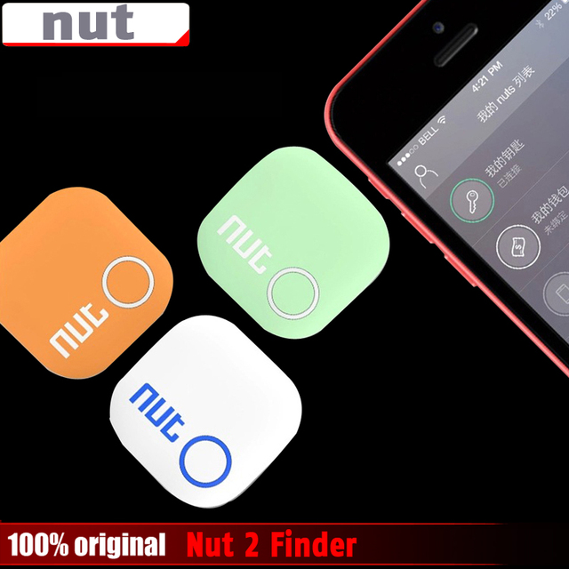 Nut 2 Smart Tag Bluetooth Tracker Child Pet Key Finder Locator Alarm for IOS Android 4 Colors Free Shipping