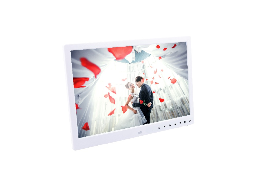 Volemer new Digital Frame 13 inch high definition Touch button electronic photo album video advertising machine digital brochure (20)
