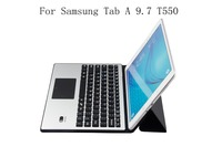 Portable PU Leather Case Cover Stand For Samsung Galaxy Tab A 9.7 T550 T555 Wireless Bluetooth Keyboard Tablet Case Funda+gifts