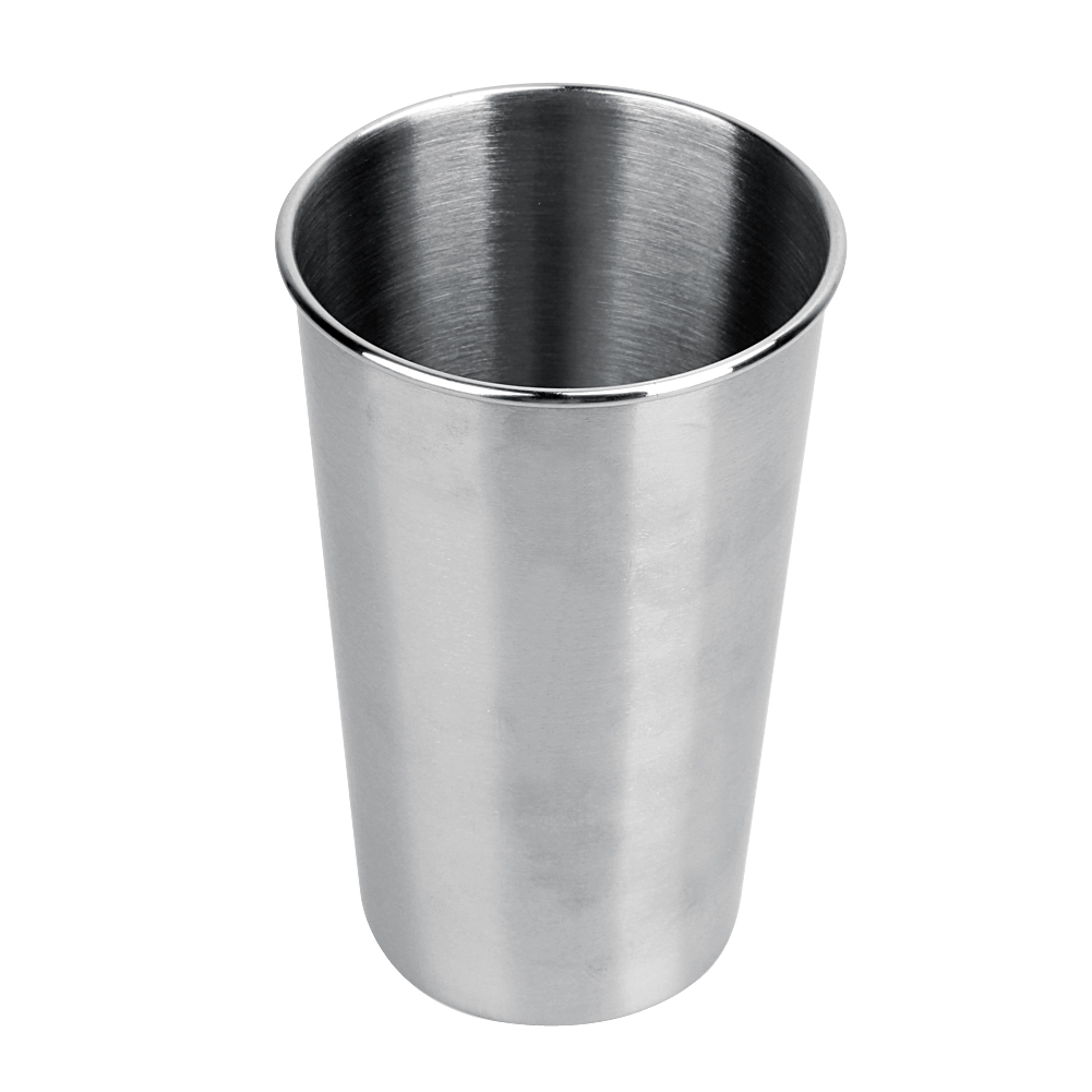 Small Crop Of Metal Coffee Cups
