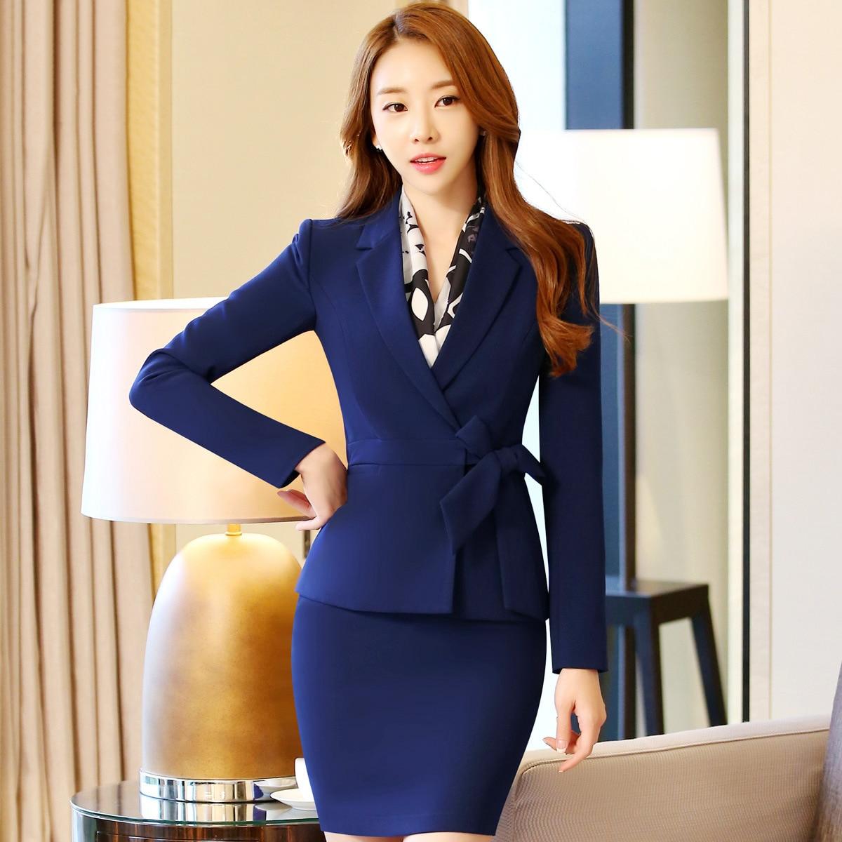 Online Get Cheap Professional Autumn Business Suit for Women ...