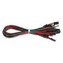 10pcs 70cm Dupont line 3pin female to female jumper wire Dupont cable for Arduino diy 3d printer