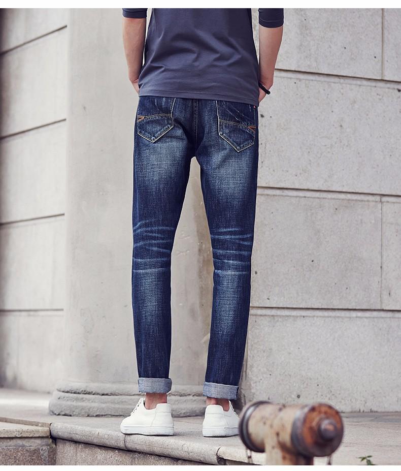 a3c7075cbd7b2f Pioneer camp 2017 novo design primavera famosa marca men slim calça jeans  masculina 100% algodão calças retas longas calças jeans 611021 em ...