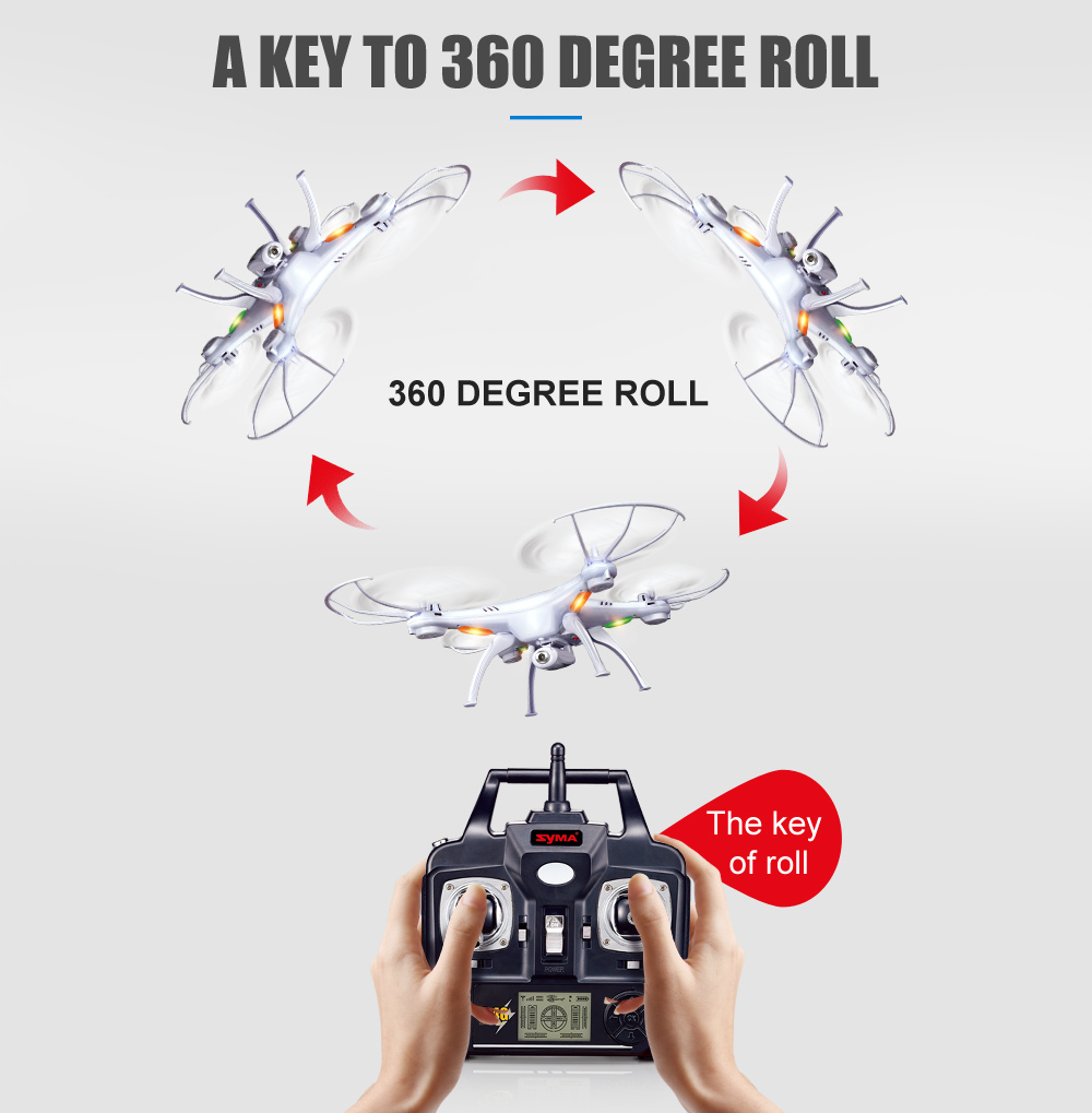 SYMA Official X5SW Drones with Camera HD WiFi FPV Real Time transmission RC Helicopter Quadrocopter RC Dron with Extra Battery 4