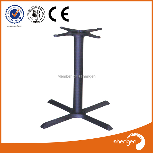 HD070 Universal Patio Furniture Parts Metal Wrought Iron Table Legs  Furniture Accessories Pedestal For Table Base