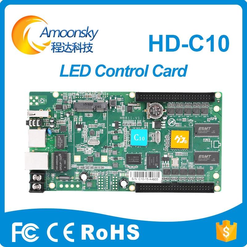 Di colore completo Asincrono huidu controller HD-C10 Per piccolo/medio display a led con 3g e wifiDi colore completo Asincrono huidu controller HD-C10 Per piccolo/medio display a led con 3g e wifi