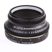 DIY крепление для Canon EF индивидуальные полный кадр Cine объектива CAN50/1.4 EF DSLR