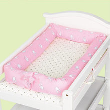 New 1pc cotton Removable Washable Baby Bed Baby Bionic Bed best sleeping bed for children drop shipping(China)