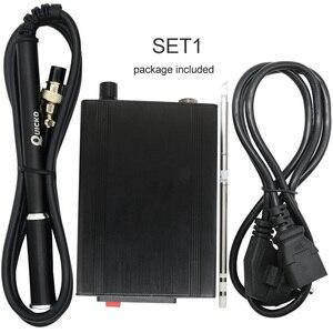 Image 4 - T12 952 OLED デジタルはんだステーション品質 T12 M8 アルミ合金ハンドルとはんだごてのヒント電子はんだ