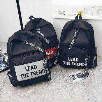 alta las lona bolsos 20 chicas De capacidad de la adolescentes viaje vuelta de carta de escuela litros mochilas mujeres de para impresión de 35 moda XqHwxtwn5Z