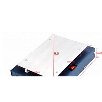 Placa De Aquecimento Do Termostato Lcd Tela Aberta Separador Desoldering Estação Para Iphone Samsung Telefone Reparo