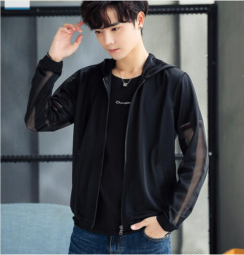 2019 New LJ939969 Fashion Casual Jacket Mens Windbreaker Jacket Men Hoodie Jackets Male Coat Spring Outwear Clothing