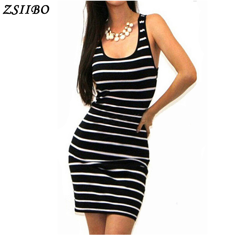 Long Short sleeve summer autumn winter Casual Women Striped Bandage Bodycon Dress Sexy Slim Sleeveless Evening Party Mini Dress 5