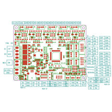 Новый 3d принтер mks gen l v10 контроллер с 5 шт tmc2209v20