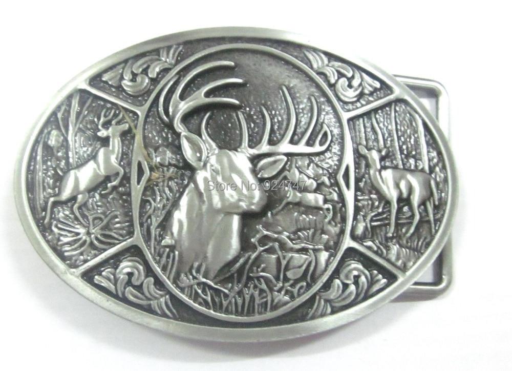Browning Hunter Deer Hunting Western Belt Buckle
