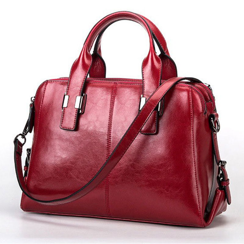 Real Cow Leather Ladies HandBags Genuine Leather bags Totes Messenger Bags for women 2018 Hign Quality Designer Luxury women BagReal Cow Leather Ladies HandBags Genuine Leather bags Totes Messenger Bags for women 2018 Hign Quality Designer Luxury women Bag