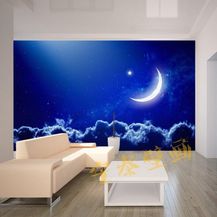 Sky TV Background Wall Paper Fototapete 3d Duvar Kaplama Mural ...