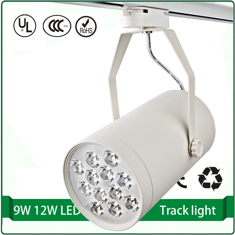 free shipping 9w high power pendant track lighting commercial track light rail light - Commercial Christmas Lights Wholesale