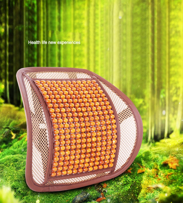 Car Seat Supports Mesh Lumbar Support for office home Chair Back Pain Support Cushion Pad Interior Accessories