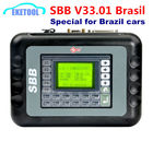 SBB Key Programmer Real V33.01 Supports Brazil Cars More Function Brasil Buyer For GM Pin Code VAG Pin Code V33.01 Silca SBB