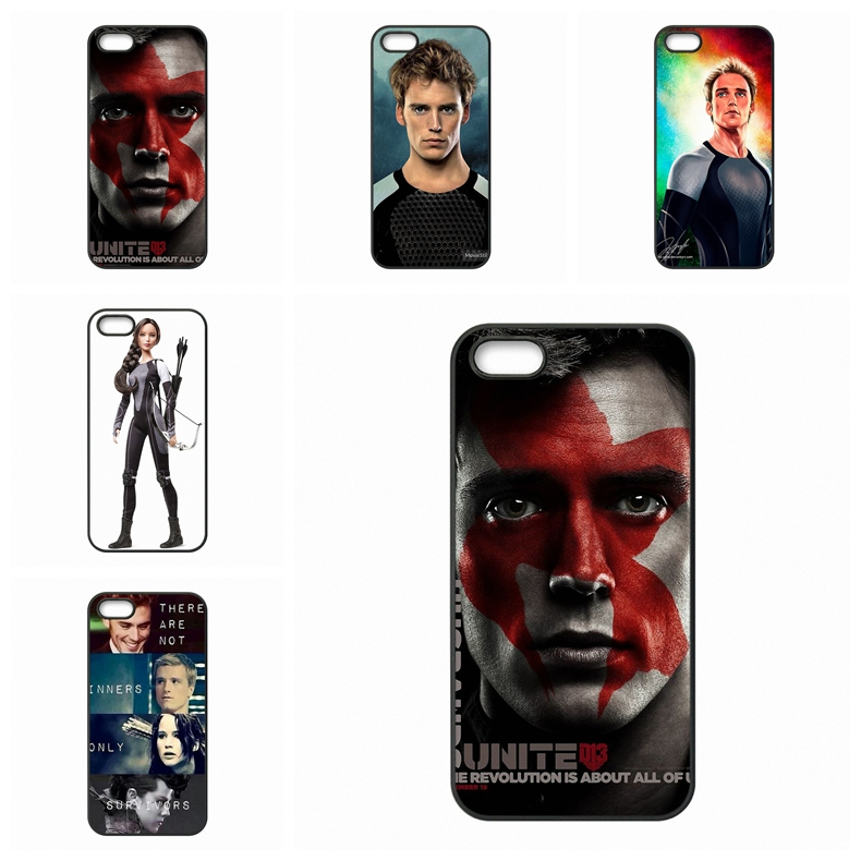 For Galaxy Core 4G <font><b>Alpha</b></font> Mega 2 6.3 Grand Prime S Advanced S6 edge Ace Nxt Plus The Hunger Games <font><b>Catching</b></font> Fire Finnick Cover
