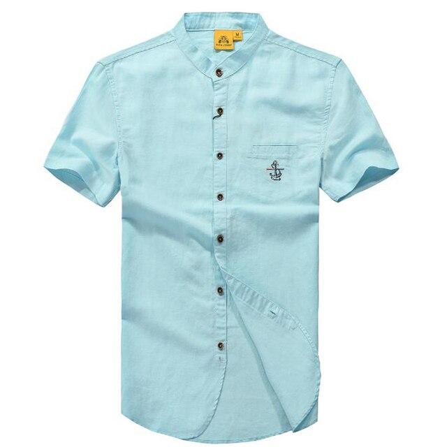 Gut gemocht Haute qualité marque hommes chemises 2017 été nouveau business  ZI76