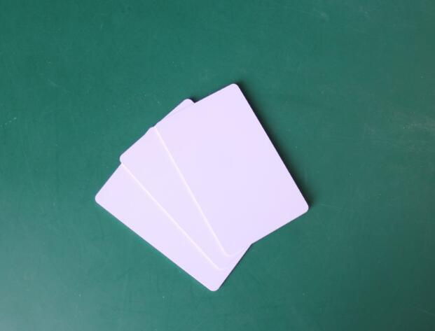 10pcs Blank Card Inkjet Printable PVC cards use for make super market member /company card/credit card