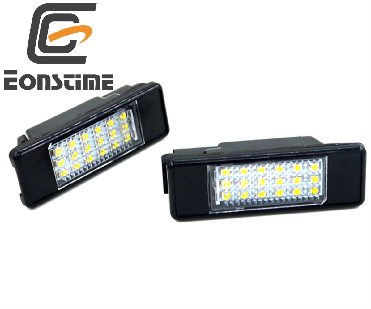2pcs White LED Car Rear License Plate Light for Peugeot 106 1007 207 307 308 3008 406 407 508 806 CITROEN C2 C3 C4 C5 C6 DS3 led glove box light for peugeot 206 207 306 406 307 406 407 607 806 308 3008 auto led interior bulb 12v led glove box lamp