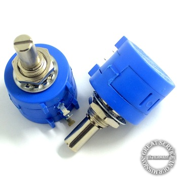 5pcs/bag 3590S precision multi- turn potentiometer 10K quality adjustable resistor (10 laps)