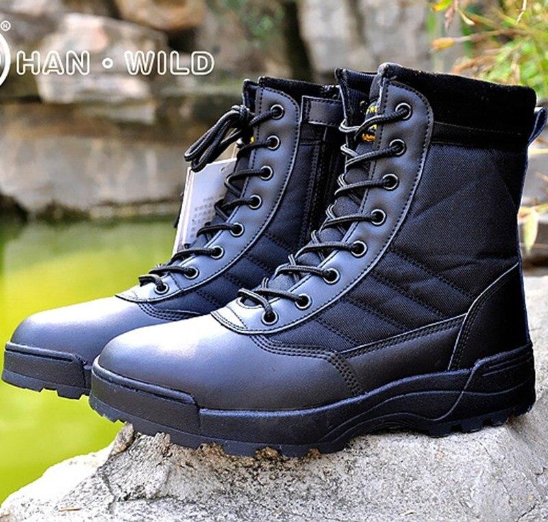 Bottes tactiques désert militaire bottes de Combat américaines chaussures d'extérieur respirant bottes portables randonnée désert bottes