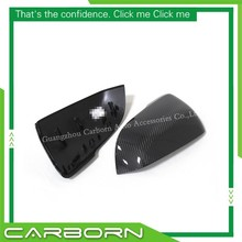 For BMW 2 Series Tourer F45 F46 2014-ON Replacement Type Carbon Fiber Body Side Rear View Mirror Cover