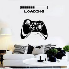 Game Room Handle Wall Sticker