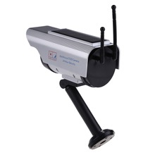 Fake camera Solar powered indoor outoodr Dummy security camera Bullet cctv camera surveillance camaras de seguridad