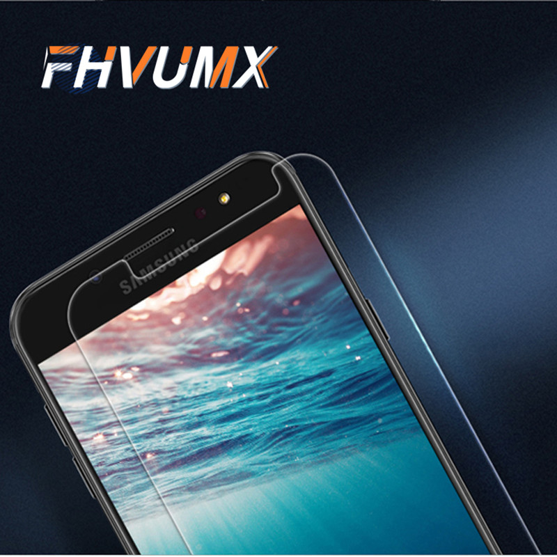 FHVUMX tempered glass For Samung Galaxy A3 A5 A7 transparent glass F Galaxy J1 J3 J5 J7 screen 2.5D tempered protective film