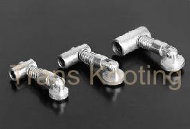 Aluminum Profile Accessories Pivot Knuckle Slot