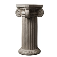 53cm High Polymers Made Antique Decor Side Table of Ancient Romans & Greeks Pillars / Classical European Architecture