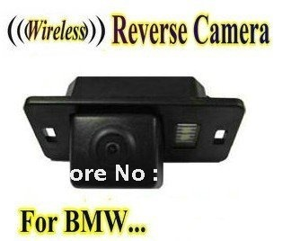 Wireless Car Rear View Camera reverse backup parking camera for BMW 1 3 5 X3 X5