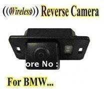 Беспроводная Автомобильная Камера Заднего вида обратный резервный парковочная камера для BMW 1/3/5X3X5X6 E53 E82 E88 E39 M3 E46