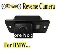 Wireless Car Rear View Camera inversione di backup telecamera di parcheggio per BMW 1/3/5X3X5X6 E39 E53 E82 E88 M3 E46