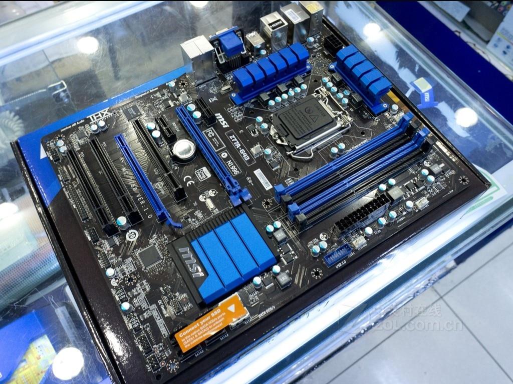 MSI Z77A overclocking luxury board Z77A-G43 1155 pin USB3.0 msi h97m g43