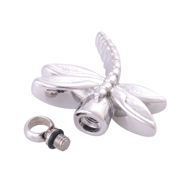 Dragonfly Shaped Memorial Pendant