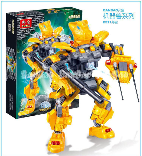 Model building kits compatible with lego robot Storm tiger 3D blocks ...