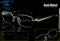 2012 New Style Wooden Temples Optical Frames Fashion Models Eyeglasses Frame High Quality Best Price MOQ