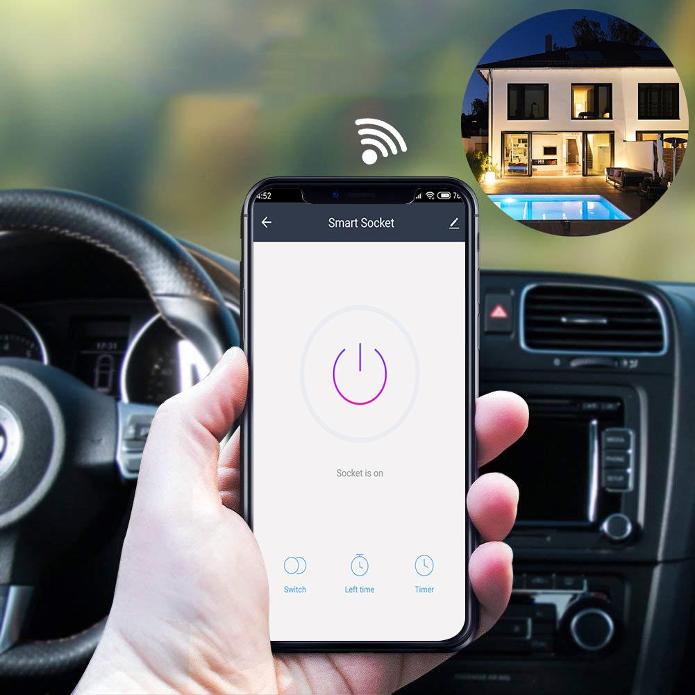 HTB1BcqJaInrK1RjSspkq6yuvXXa0 - EU US UK Voice Remote Control Home Plug Remote Work with Google Home Alexa IFTTT Smart Plug Wifi Smart Socket Power Monitor